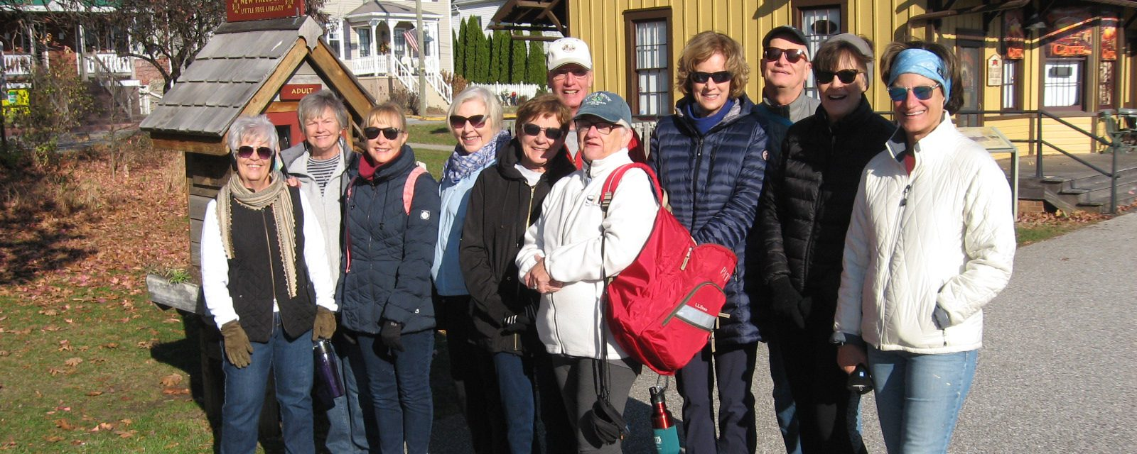 Members of OLLI York visiting New Freedom, PA
