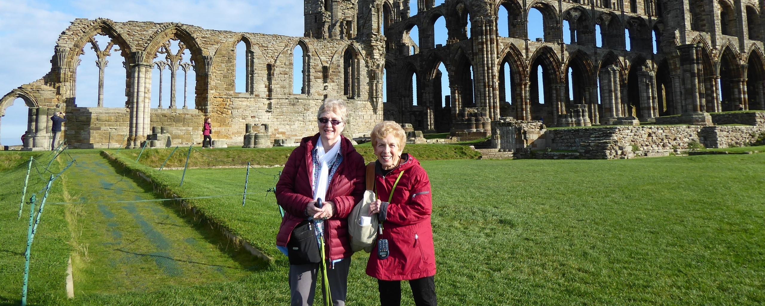 Two OLLI members traveling