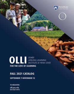 OLLI University Park Fall 2021 course catalog cover
