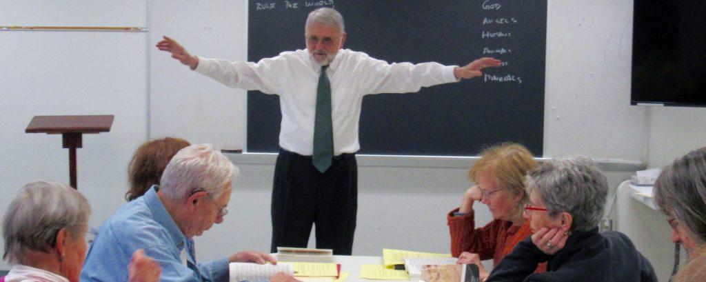 Teaching at OLLI University Park